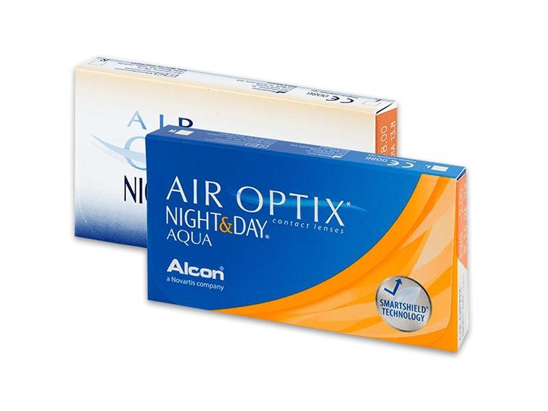 Air Optix Night Amp Day Aqua 6 Lenses