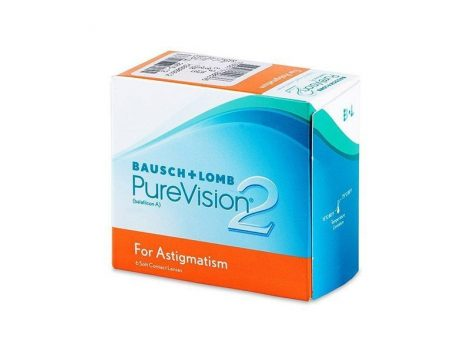 PureVision 2 HD For Astigmatism (6 Linsen)